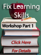 Fix Learning Skills Workshops